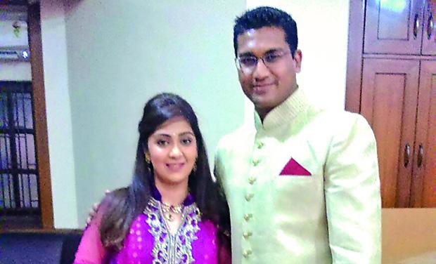 Ankita with Vishal