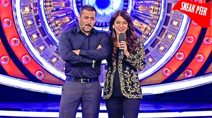 Actress had to take the insult with a straight face as Salman Khan reminded her that she had once refused to act in a film with him.
