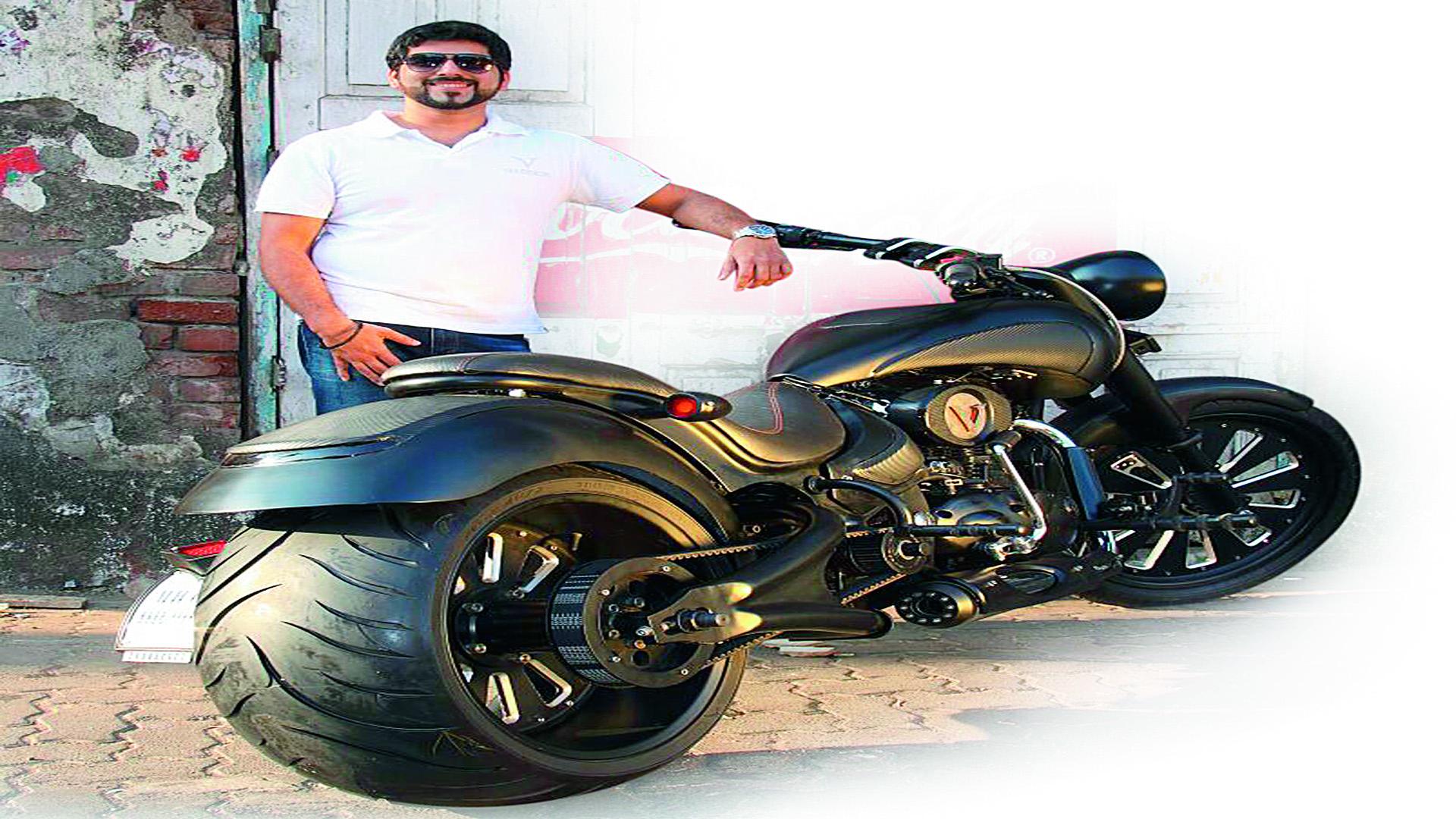 Bike doom sticker design - Headturner Akshai Varde
