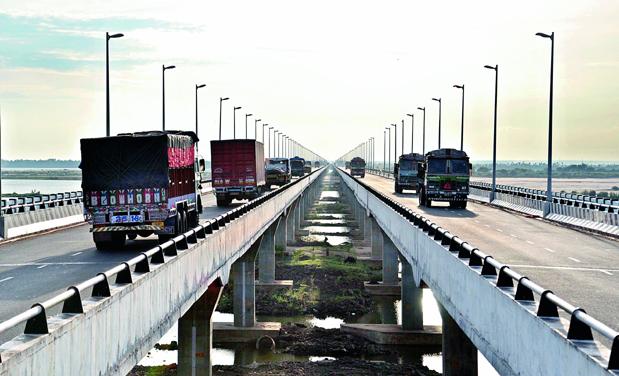 new bridge across godavari river fails to meet revenue
