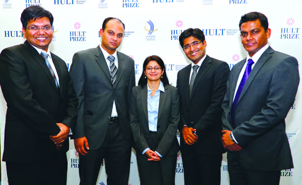 The fantastic five: (From left) Dr Ashish Bondia, Pranav Kumar Maranganty, Aditi Vaish, Manish Ranjan and Ramanathan Lakshmanan