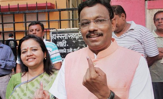 Maharashtra education minister Vinod Tawde
