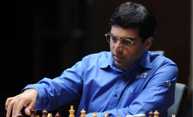 Former world champion Viswanathan Anand played out a quick draw with Veselin Topalov of Bulgaria to finish second in Norway chess tournament, part of the Grand Chess tour. (Photo: AFP)
