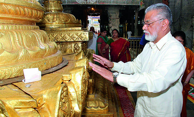 Image result for Dr K Radhakrishnan praying