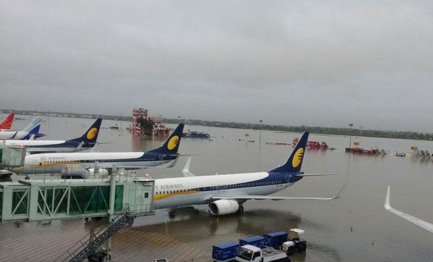 Chennai Floods Airlines Shift 18 Planes To Safer Cities