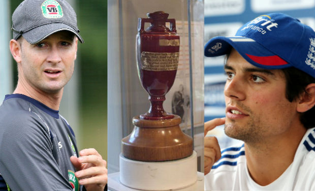 Cook, Clarke and the Ashes