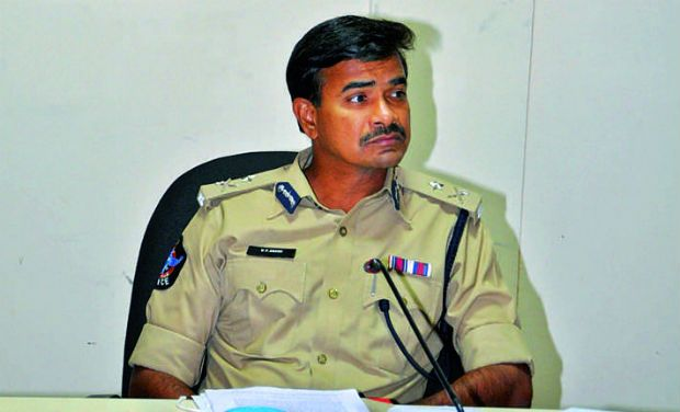 Cyberabad police commissioner C.V. Anand
