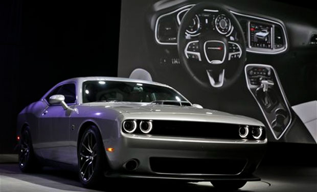 Muscle Cars At New York International Auto Show