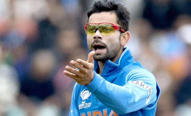 Image result for Virat Kohli angry on dhoni during semi final match