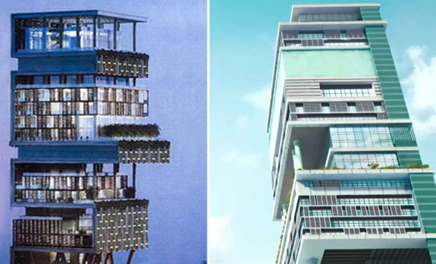 Did mukesh ambani 39 s antilla come down in 39 krrish 3 39 for Order of building a house