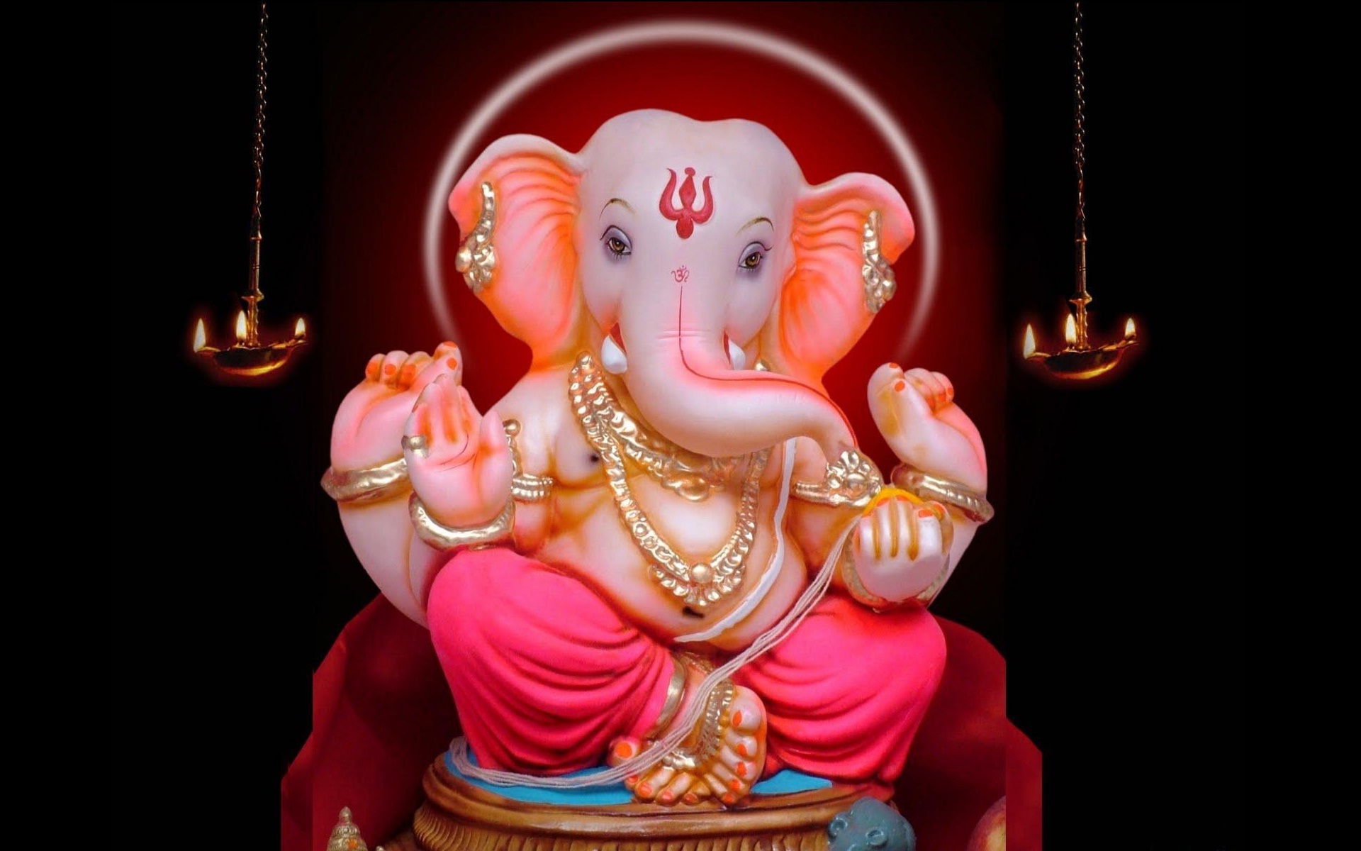 Hd wallpaper ganesh - Click On The Image To See Full Size And Then Right Click To Download