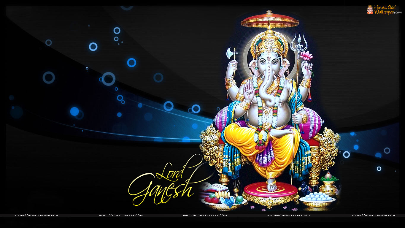 lord ganesha wallpaper computer background - photo #29
