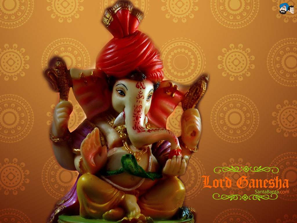 Hd wallpaper ganpati - Click On The Image To See Full Size And Then Right Click To Download