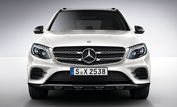 mercedes benz unveils the 2015 hybrid glc suv. Black Bedroom Furniture Sets. Home Design Ideas