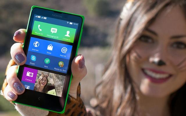 Representational picture of Nokia X | Photo Courtesy - Nokia India Website