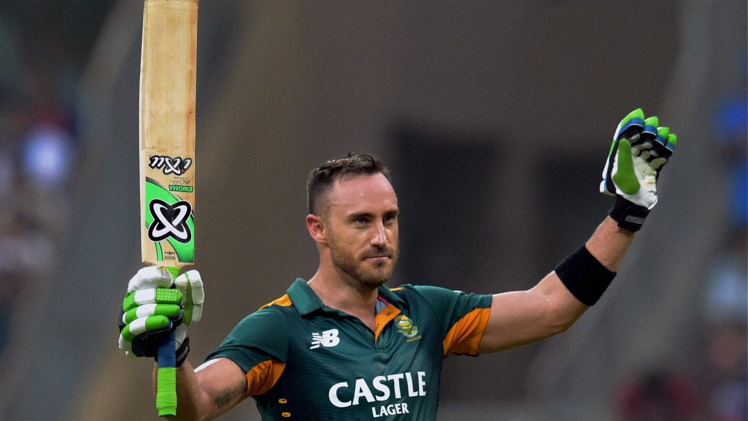 Video: Faf du Plessis' hundred was best of the three, says ... Faf Du Plessis
