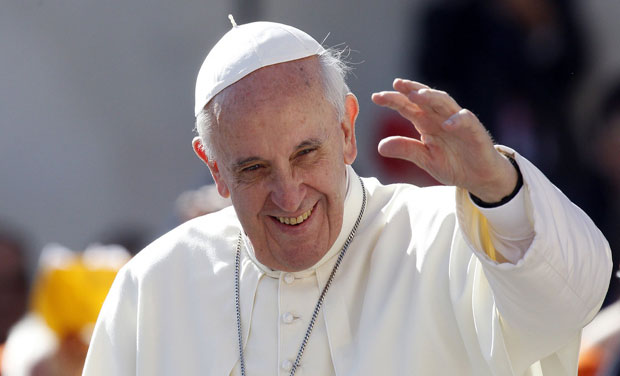 Pope Francis' plane is due to fly through Chinese airspace during his upcoming trip to South Korea. Photo: AP/ File