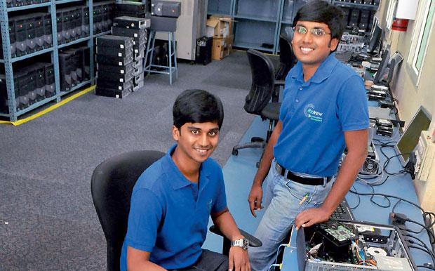 Raghav and Mukund. (Photo: DC)