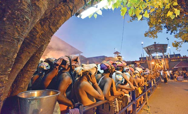 According to authorities, the food safety officers from every district will be randomly appointed at Sabarimala to ensure round-the-clock services