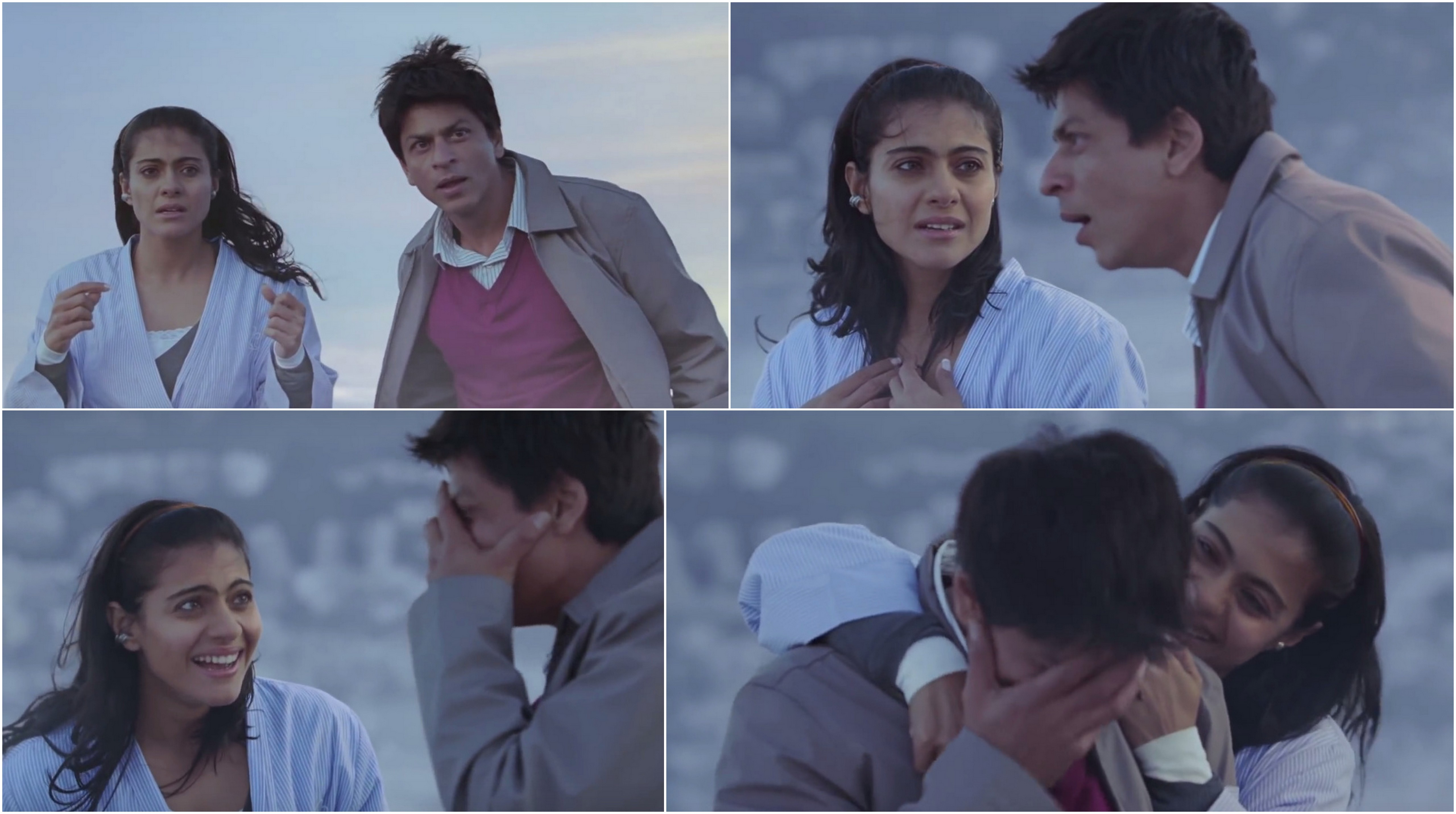 Outstanding Srk Kajols Best On Screen Moments That Made Us Fall In Love With Them Short Hairstyles For Black Women Fulllsitofus
