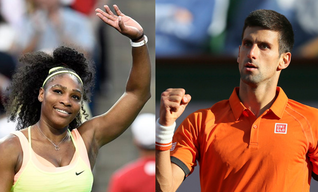 Calendar Year Grand Slam Golf : Us open serena djokovic top seeds for year s final