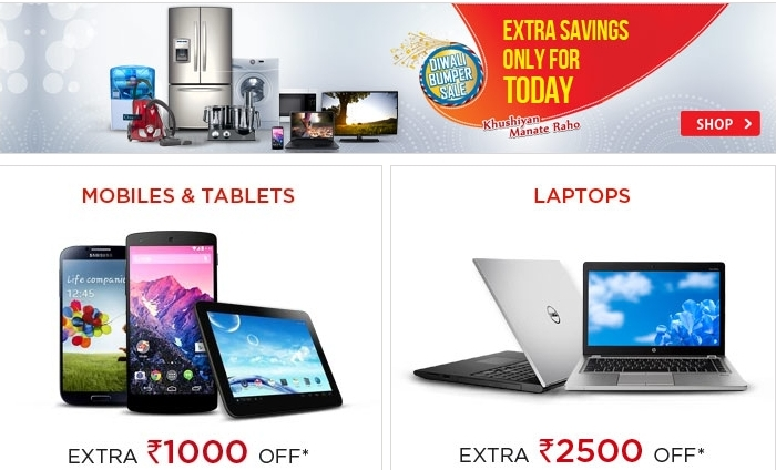 Grab Snapdeal Deal of the Day offers for December Today's best deals on everything & promo codes for online shopping at Snapdeal. Get maximum discounts with GrabOn.