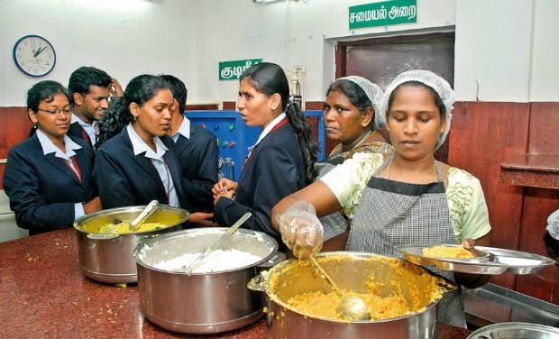 A glimpse of Amma Canteen in Chennai