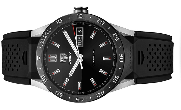 Tag Heuer unveils $1,500 Intel-powered luxury Android ...