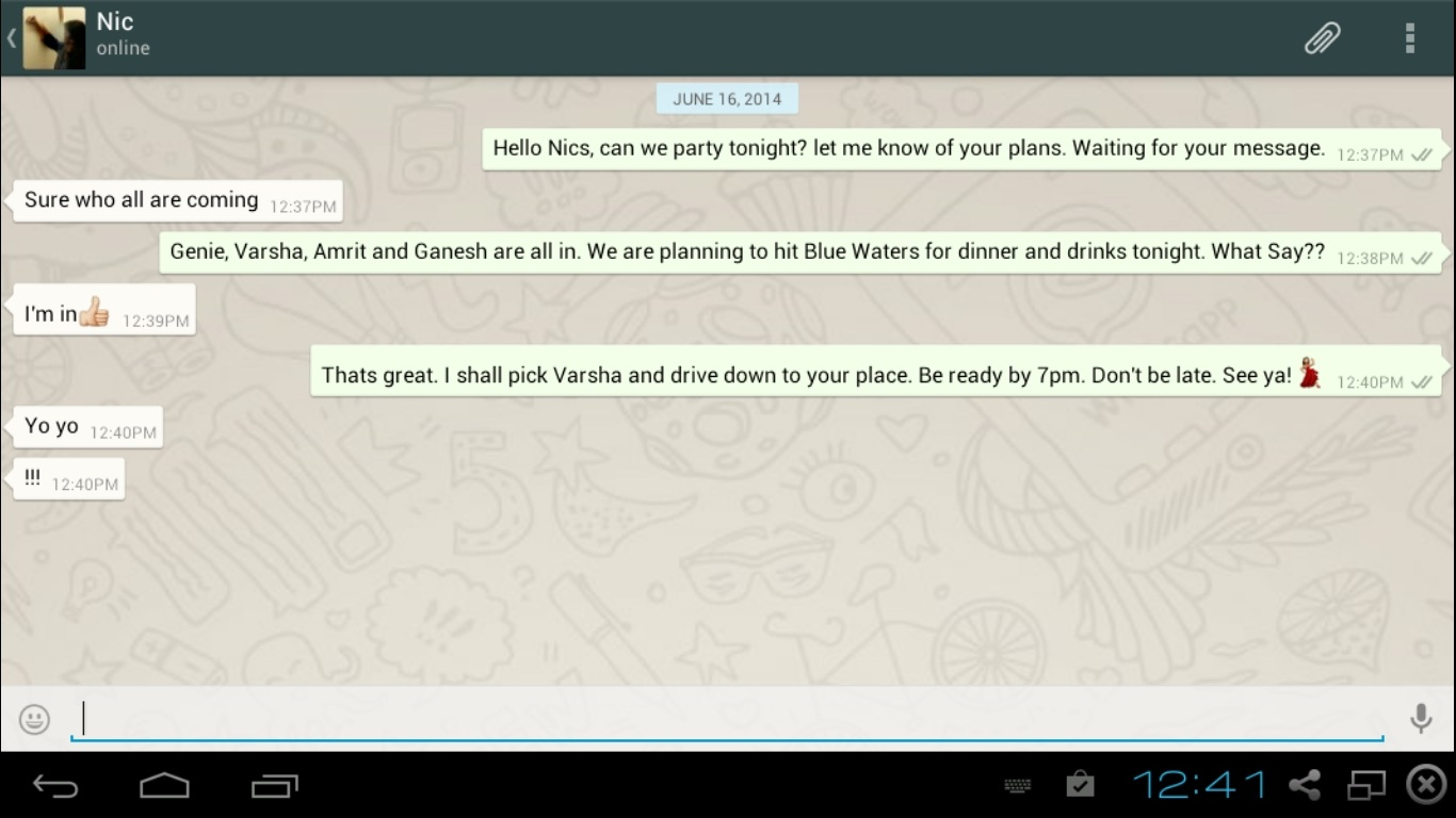 Make Sure You Are Not Using Whatsapp On Another Device Using The Same Number  If You Do, Then The Device Will Be Deactivated And Ask You For  Reverification