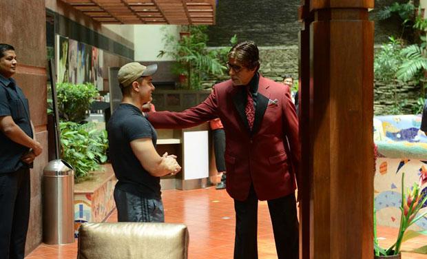 Aamir Khan and Amitabh Bachchan.