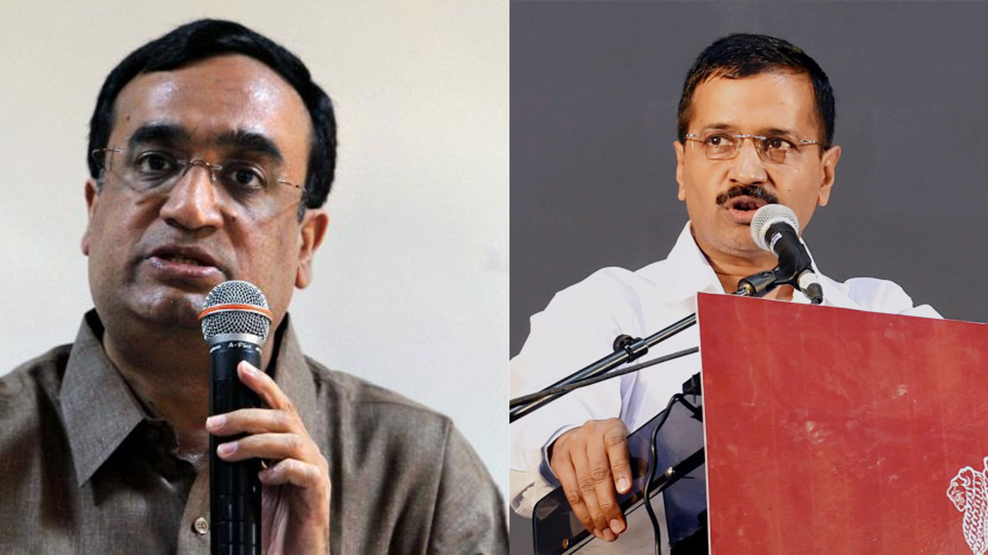 Image result for ajay makan on arvind kejriwal