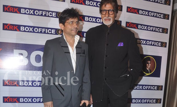 When questioned about what he felt about Amitabh's remarks, he said that he appreciated them and that he was glad he followed him on Twitter.