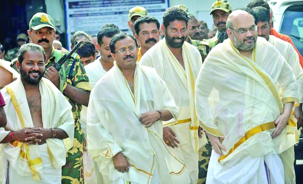 Work to win not just to compete says bjp chief amit shah for V muraleedharan bjp