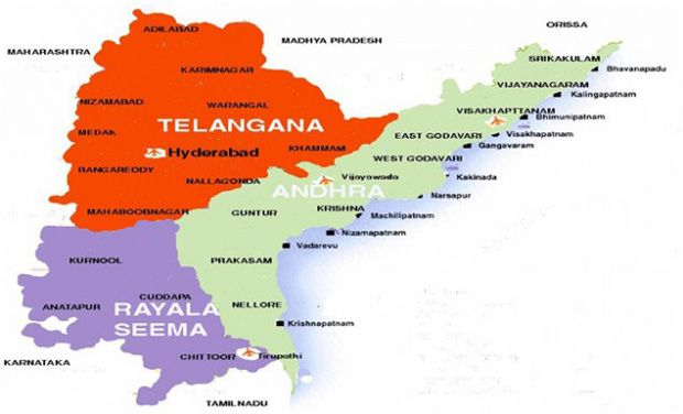 Andhra Pradesh To Open Checkposts On Telangana Border - Border checkpost us map
