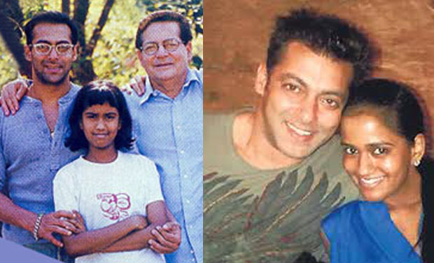 Excellent Down The Memory Lane Arpita Khans Growing Up With The Khan Family Hairstyles For Women Draintrainus