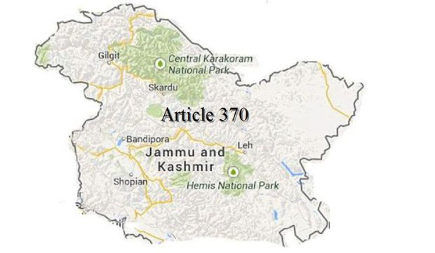 article 370 There is currently no proposal to scrap article 370 which gives special status to jammu and kashmir, union minister of state for home hansraj gangaram ahir informed the lok sabha today.