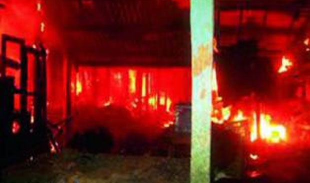 A major fire broke out at the Bombay Talkies warehouse in Borivali, Mumbai, last Thursday.