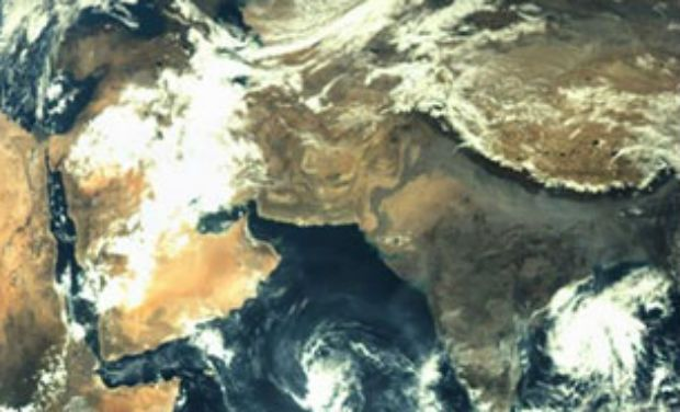 Picture taken by India's Mars orbiter. Credit: ISRO