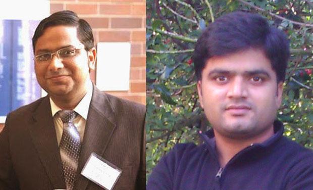Dr Chandrashekhar Sharma and Dr Manohar Kakunuri (Photo: DC)