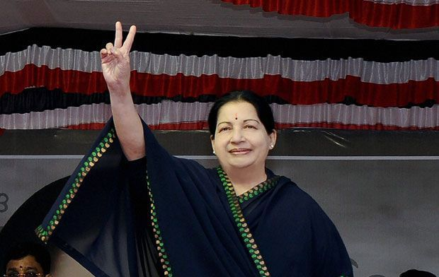 Former Tamil Nadu chief minister, Jayalalithaa (Photo: PTI/File)