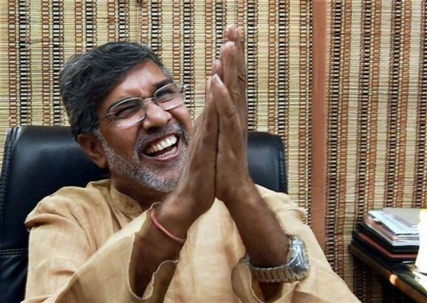 Nobel Peace Prize winner Kailash Satyarthi (Photo: PTI)