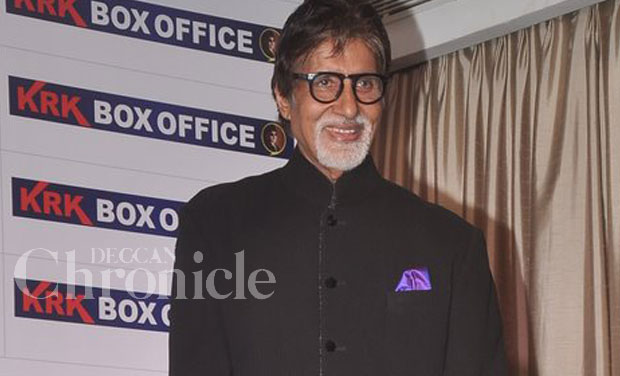 """On being asked about what he felt about the review, Amitabh was quoted as saying, """"Everyone has their own view and they can express the way they want."""""""