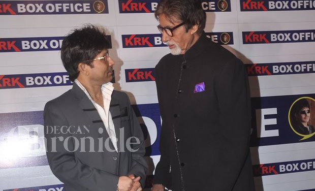 The two stars with otherwise very contrasting personalities had only good things to say about each other. KRK revealed in an interview that Amitabh accepted his invite at one go, and for that he felt very grateful.