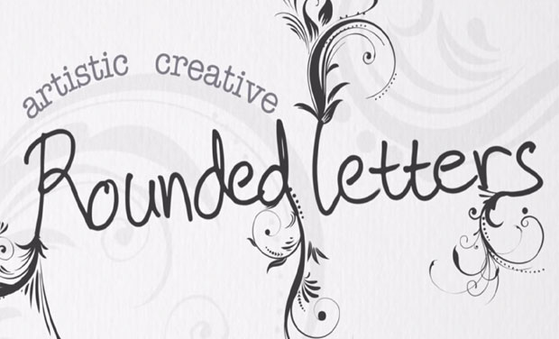 Rounded letters are a sign of creative brain. (Photo: Video grabs)