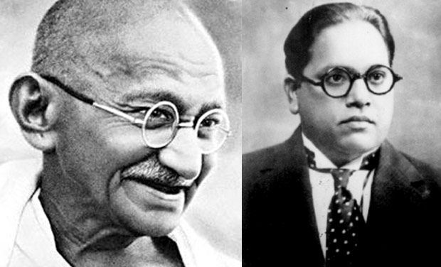 Ambedkar and Gandhi