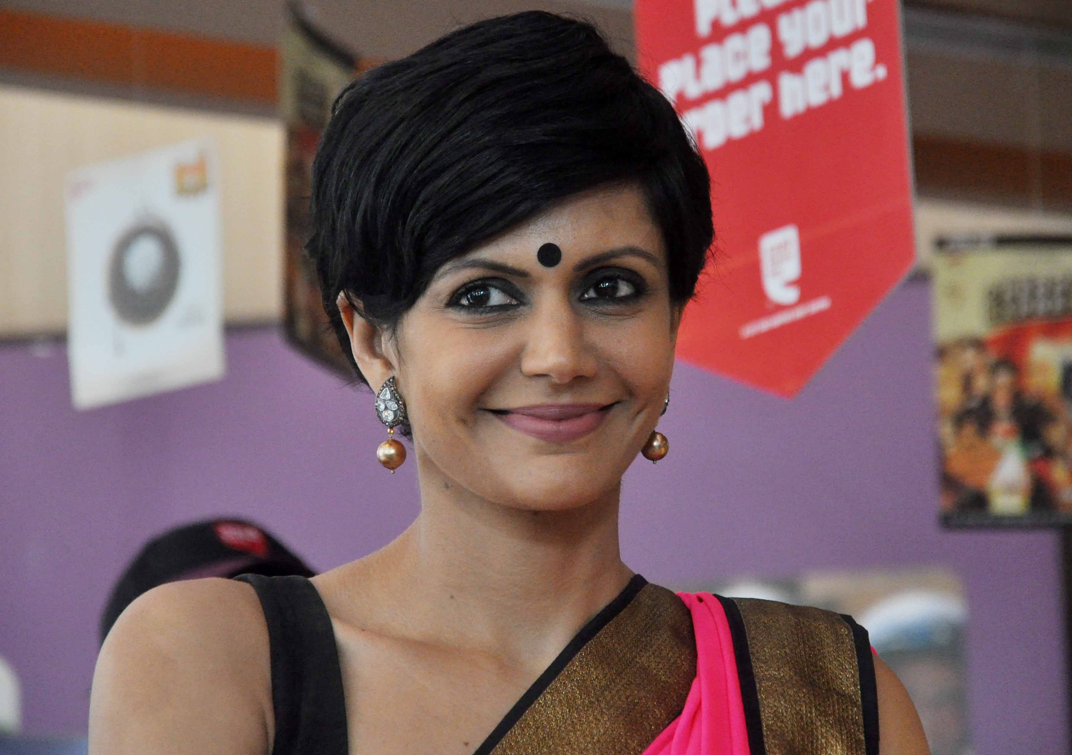 Mandira Bedi Deccan Chronicle - Ancient Hairstyles