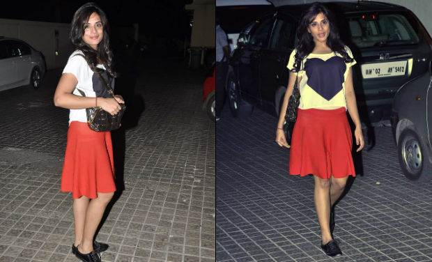 Richa Chaddha was spotted at PVR.