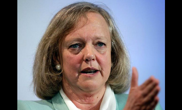 <b>Meg Whitman</b> is the President and Chief Executive Officer of Hewlett-Packard (HP). She had earlier worked in The Walt Disney Company.