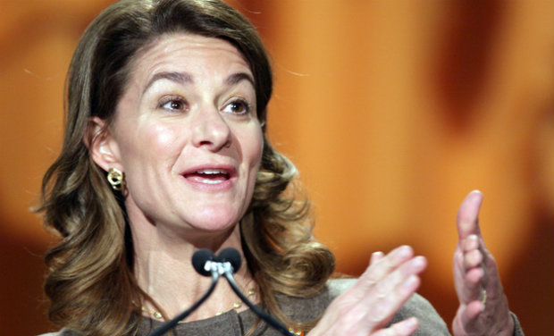 <b>Melinda Gates</b> is the co-founder of the Bill