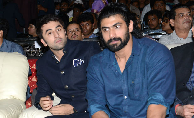 Ranbir Kapoor and Rana Daggubati at the inaugural function of 18th International Children's Film Festival of India.